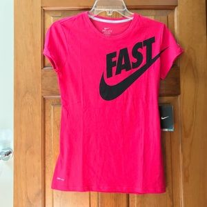 Nike Pink Dr-FIT Tee